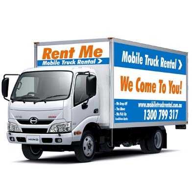 removal truck hire melbourne