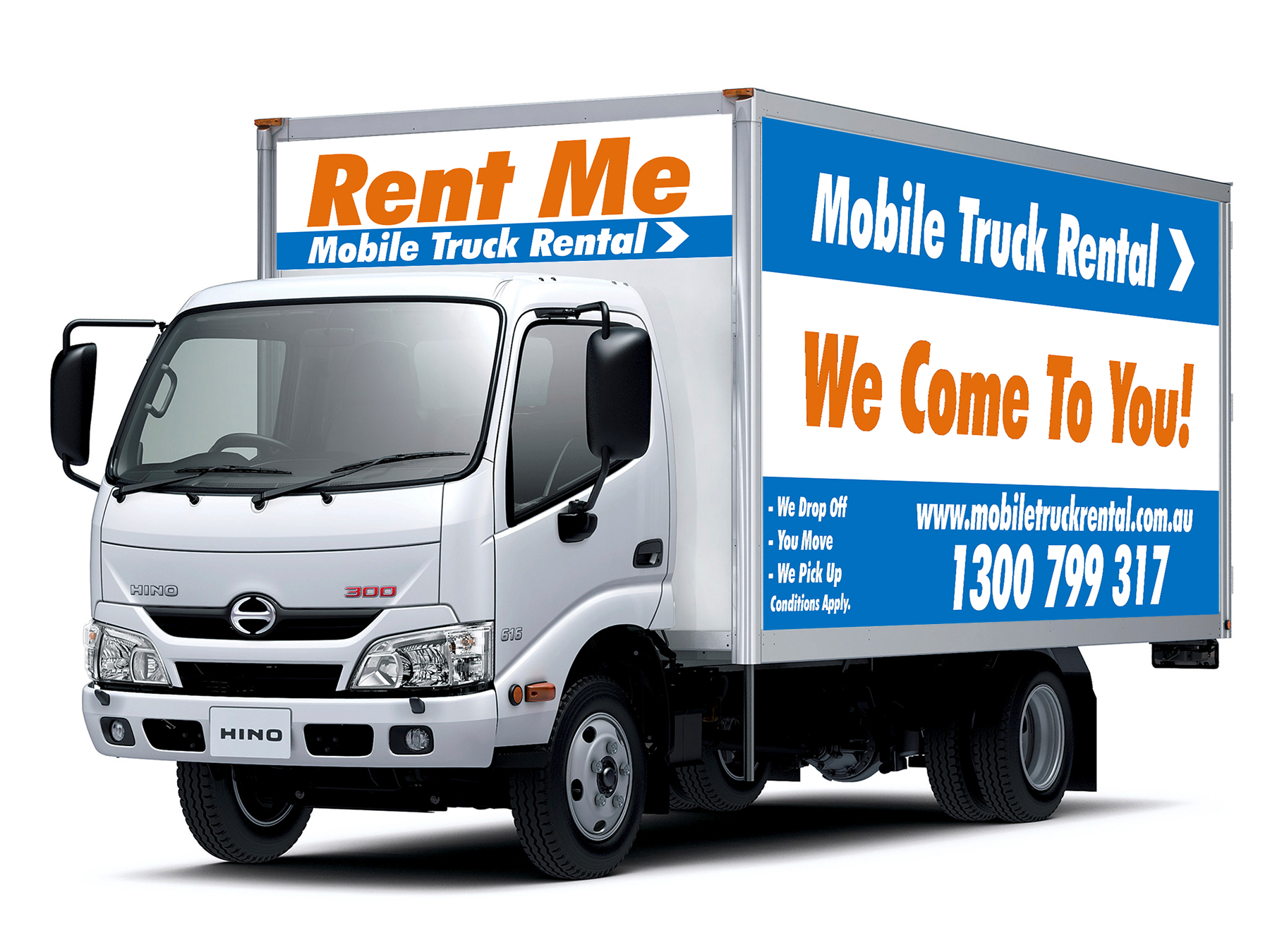 Rental Trucks For Moving >> Rent A Truck - Interstate Truck Hire | Mobile Truck Rental