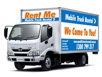 small truck hire brisbane
